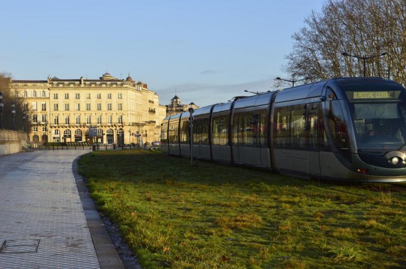 Nature + Tram ( Bordeaux )